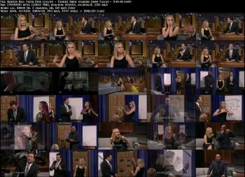 Kristen Bell (with Demi Lovato) - Tonight Show starring Jimmy Fallon - 3-10-14
