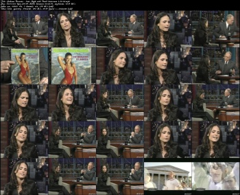 Jordana Brewster - Late Night with David Letterman - 1-20-06