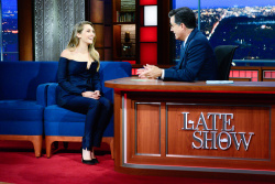 Elizabeth Olsen - The Late Show with Stephen Colbert: August 3rd 2017