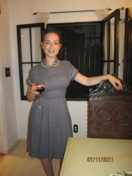 Milana Vayntrub at a Friend's Birthday Party - 7/11/11