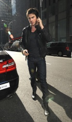 Ian Somerhalder - Arriving at Live with Kelly and Michael in NYC (March 13, 2013) - 18xHQ YyU15l6w