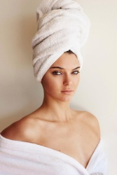 Kendall Jenner - Mario Testino's Towel Series 62 Photoshoot