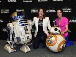 Daisy Ridley - Star Wars Celebration 2015 @ the Anaheim Convention Center in Anaheim - 04/16/15