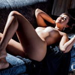 Gatas QB - Meyrielle Abrantes Playboy Brasil Novembro 2013