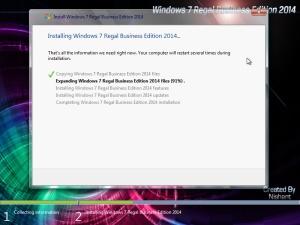 Windows 7 Regal Business Edition 2014 SP1 x86