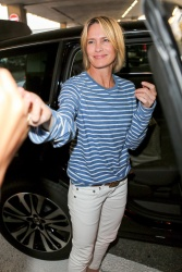 Robin Wright - Arrives at Airport in Nice May.16.2017