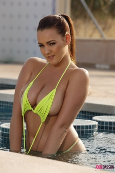 set153 Bikini by the pool 26.02.14