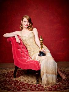 Emma Stone - 2017 Vanity Fair Oscar Portrait