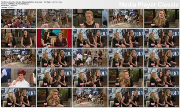 Brooklyn Decker, Majandra Delfino, Zoe Lister-Jones - The Talk - 4-21-14 (lots of legs!)