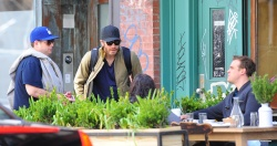 Jake Gyllenhaal & Jonah Hill & America Ferrera - Out And About In NYC 2013.04.30 - 37xHQ Mm1bReQt