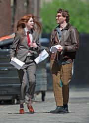 Карен Гиллан, фото 200. Karen Gillan - Set of 'Not Another Happy Ending' in Glasgow, Scotland - 7/20/12, foto 200