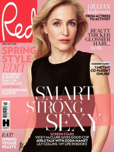 Gillian Anderson - Red Magazine UK April 2017