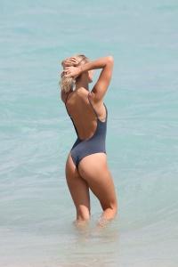Selena Weber - Shows Off Her Bikini Body In Miami - February 23rd 2017