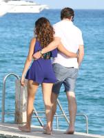Nina Dobrev with her boyfriend Austin Stowell in Saint-Tropez (July 24) 288TG6dJ