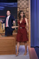 "Halle Berry -            ""Jimmy Fallon'' New York City  August 2nd 2017."