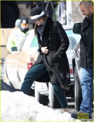 Jennifer Lawrence - on the set of 'Untitled David O. Russell Project' in Boston 3/20/13