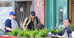 Jake Gyllenhaal & Jonah Hill & America Ferrera - Out And About In NYC 2013.04.30 - 37xHQ B1m8iQ3U