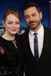 Emma Stone - Jimmy Kimmel Live: February 6th 2017