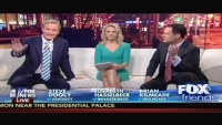 Elisabeth Hasselbeck Green Dress (MQ)