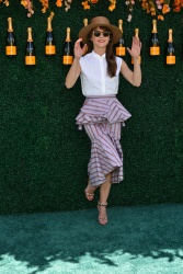 Keri Russell - Veuve Cliquot Polo Classic in Jersey City 6/3/17