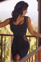 Дениз Милани, фото 5715. Denise Milani Black Dress 2012 :, foto 5715