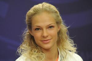 Дарья Клишина, фото 20. Darya Klishina Press conference Moskau - 01.02.2012, foto 20