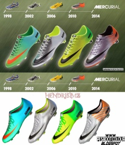 Download PES 2013 Nike Mercurial March - April Boots by HendriSimZ
