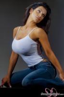 Дениз Милани, фото 6106. Denise Milani Jeans 2012 :, foto 6106