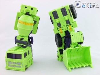 [Toyworld] Produit Tiers - Jouet TW-C Constructor aka Devastator/Dévastateur (Version vert G1 et jaune G2) - Page 5 GxLvhHmO