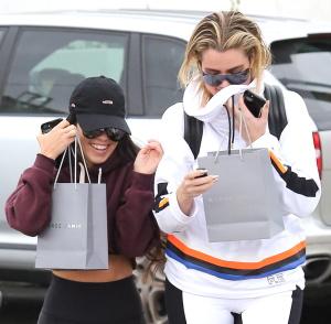 Kourtney & Khloe Kardashian - Out Together In Calabasas - February 5th 2017
