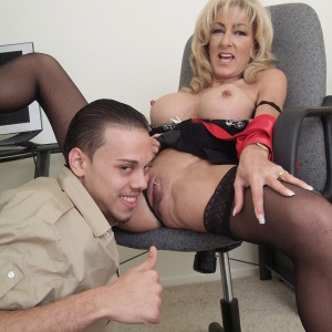What milf boss alexi carrington know