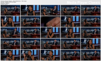 Rosario Dawson - Jimmy Kimmel Live - 7-30-14