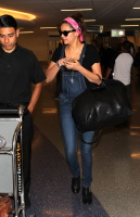 Nina Dobrev at LAX Airport (March 27) SmdbyPVJ