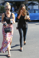 Nina Dobrev with Hilary at Alfred Coffee & Kitchen in West Hollywood (July 29) 1wof1t5s