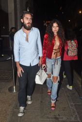 Eliza Doolittle Seen leaving Nobu in Mayfair, London 30-09-2014