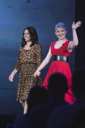 Ginnifer Goodwin - 2015 D23 Expo: Day Two Once Upon a Time: An Evening with Snow White & the Evil Queen @ the Anaheim Convention Center - 08/15/15