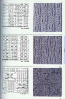 Knitting patterns book 250 (Узоры и схемы по вязанию спицами).  Прочитать целикомВ.