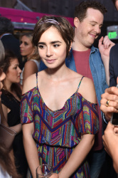 Lily Collins - The A List 15th Anniversary Party @ THE A LIST's Beverly Hills Showroom in Beverly Hills - 09/01/15