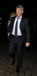 Sean Penn - Charlize Theron and Sean Penn - seen leaving Royal Festival Hall. London - February 16, 2015 (153xHQ) U2NC2WUI