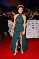 Gemma Atkinson - 21st National Television Awards @ The O2 Arena in London - 01/20/16