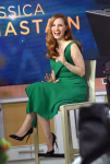 Jessica Chastain - on the set of the Today Show in NYC 3/20/17