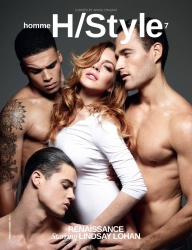 Lindsay Lohan - Homme Style Magazine Spring/Summer 2015