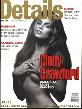 Cindy Crawford - Details Magazine December 1992