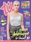 Cara Delevingne - Tu Magazine August 2017