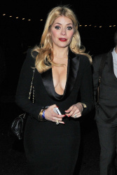 Holly Willoughby at a Brit Awards After Party in London 20th February x34
