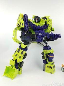 [Toyworld] Produit Tiers - Jouet TW-C Constructor aka Devastator/Dévastateur (Version vert G1 et jaune G2) - Page 7 0IG0j5Sc