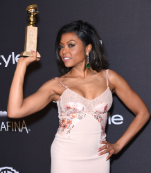 Taraji P. Henson - 2016 InStyle & Warner Bros. 73rd Annual Golden Globe Awards Post-Party @ the Beverly Hilton Hotel in Beverly Hills - 01/10/16