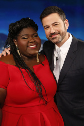 Gabourey Sidibe - Jimmy Kimmel Live: April 20th 2017