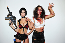 "Nuts Magazine Photoshoot - Resident Evil 6 ""Sexy Zombies!"""