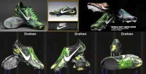 Download Nike Mercurial Vapor IX FG-Tropical Pack-Black/White/Flash Green
